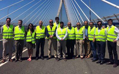La Junta Rectora se reúne en Cádiz y visita el Puente de la Constitución 1812