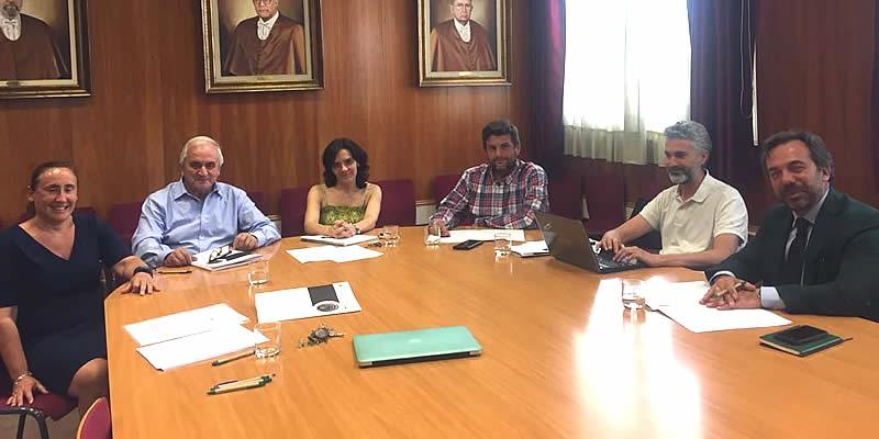 El Colegio y la ETSICCP de Granada ponen al día sus acuerdos y refuerzan su colaboración