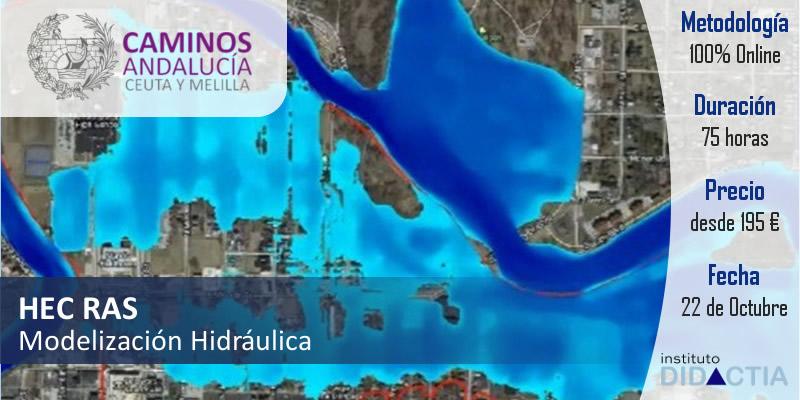 """IDidactia. Curso de """"Modelización Hidráulica con HEC RAS"""" · 22 OCT 2018"""