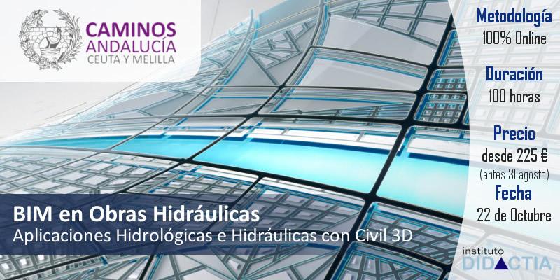 IDidactia. BIM en Obras Hidráulicas. Aplicaciones Hidrológicas e Hidráulicas con Civil 3D · 22 OCT 2018