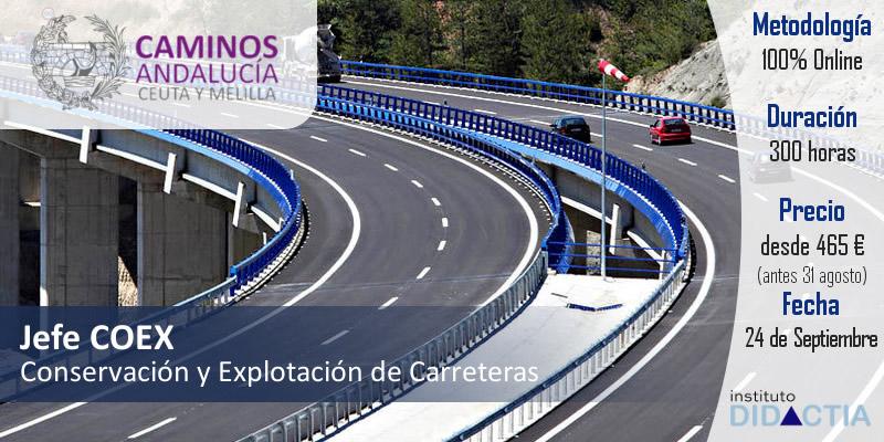 IDidactia. Curso Superior «Jefe de Conservación y Explotación de Carreteras» · 24 SEPT 2018