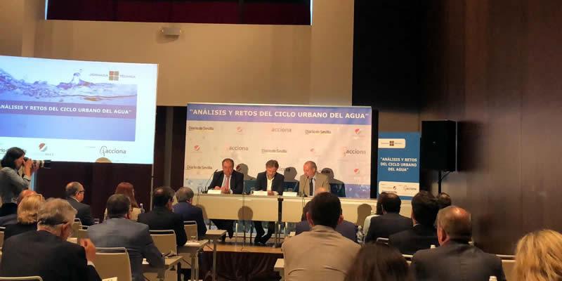 Ante expertos públicos y privados para conocer las perspectivas del sector del agua en Andalucía