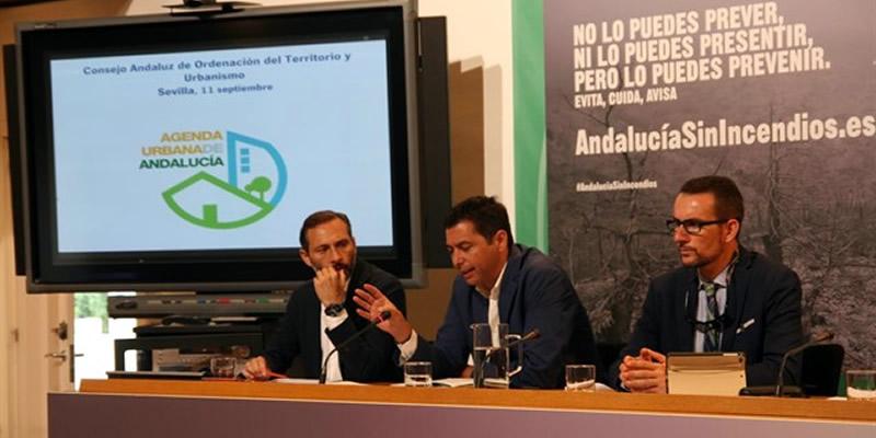 Medio Ambiente presente a la CAOTU, en la que se integra el Colegio, la Agenda Urbana de Andalucía