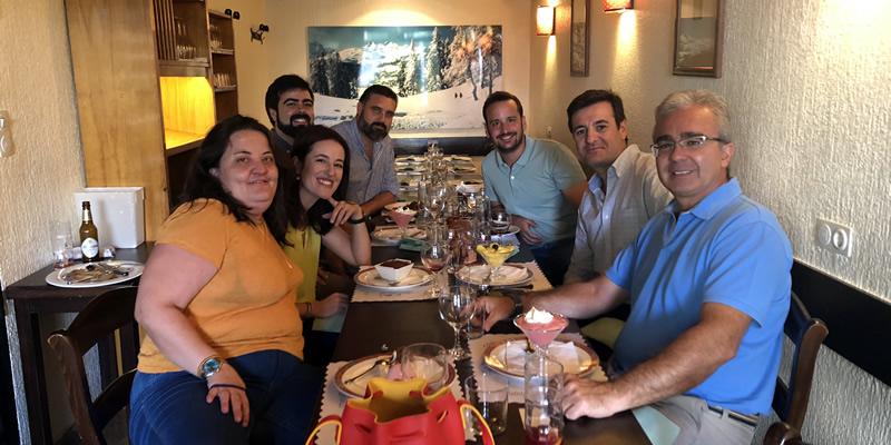 Granada inicia la vuelta colegial con una comida