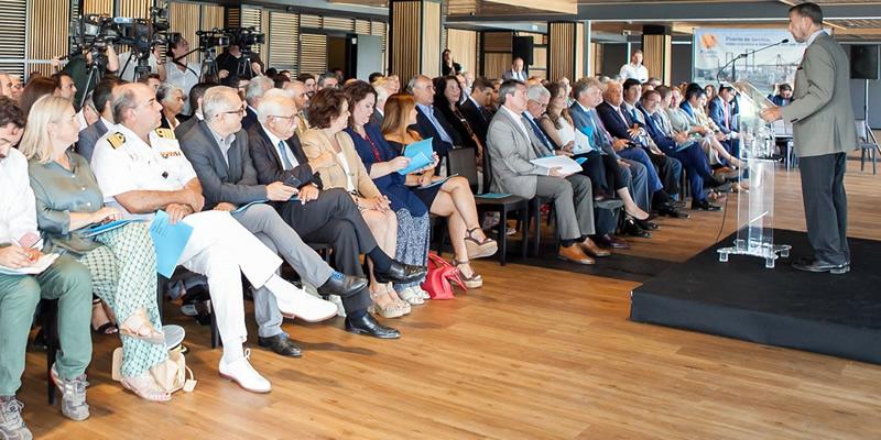 El Decano, presente en la presentación del Plan Estratégico 2025 del Puerto de Sevilla