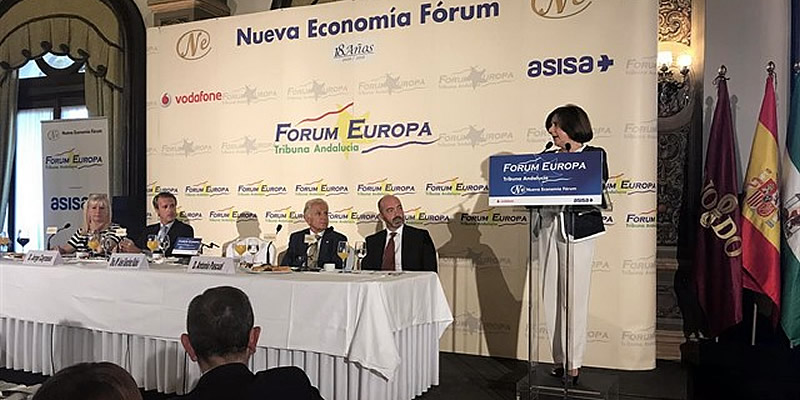 En el Forum Europa, para conocer de cerca las Políticas Sociales en nuestra comunidad