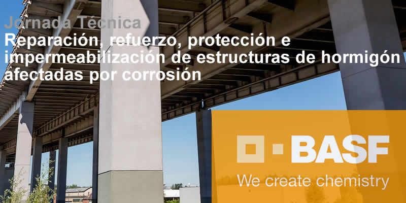 """Sevilla. Jornada Técnica """"Reparación, refuerzo, protección e impermeabilización de estructuras de hormigón afectadas por corrosión"""""""