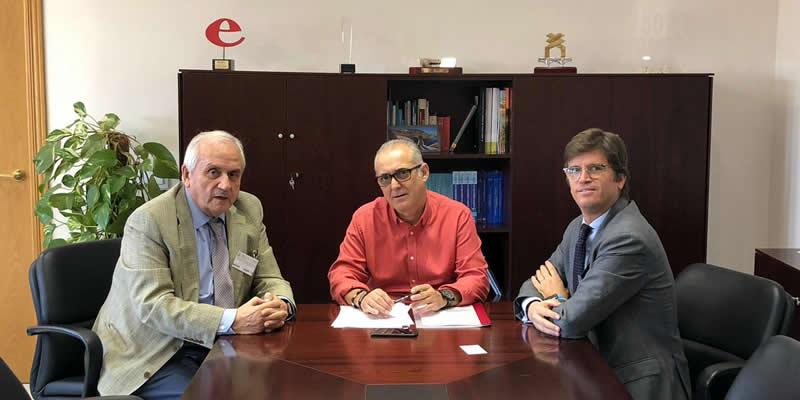 Estrechamos los lazos con la Confederación Hidrográfica del Guadalquivir
