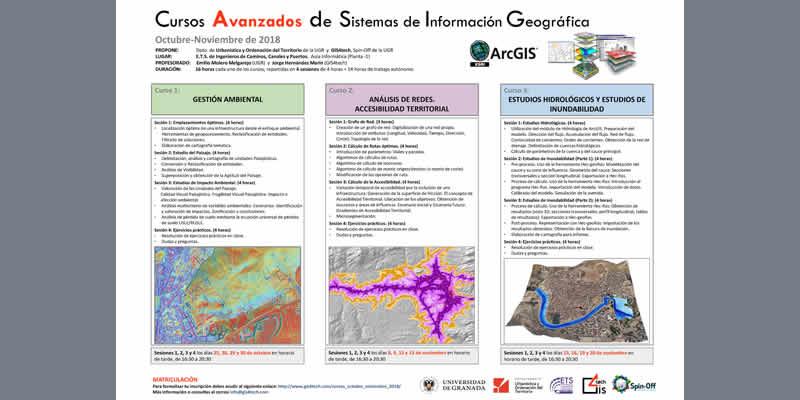 Granada. Cursos Avanzados de Sistemas de Información Geográfica. GIS4tech