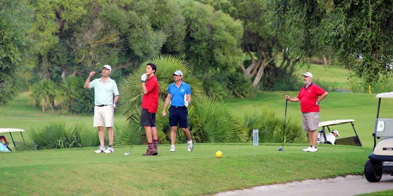 Más de 70 jugadores y un centenar de asistentes al XXIV Torneo de Golf Caminos de Andalucía