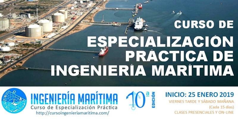 Sevilla. Curso Especialización Práctica de Ingeniería Marítima
