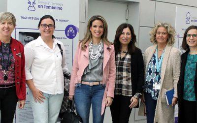 La Representante Provincial del CICCP en Almería, en la mesa de mujeres científicas y tecnológicas de la provincia