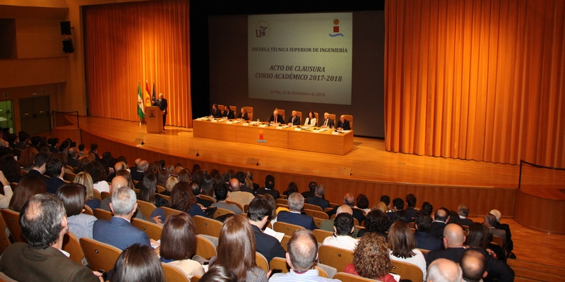 La ETSI de Sevilla y la Demarcación, nuevamente juntos para la graduación de egresados del curso 2017-2018