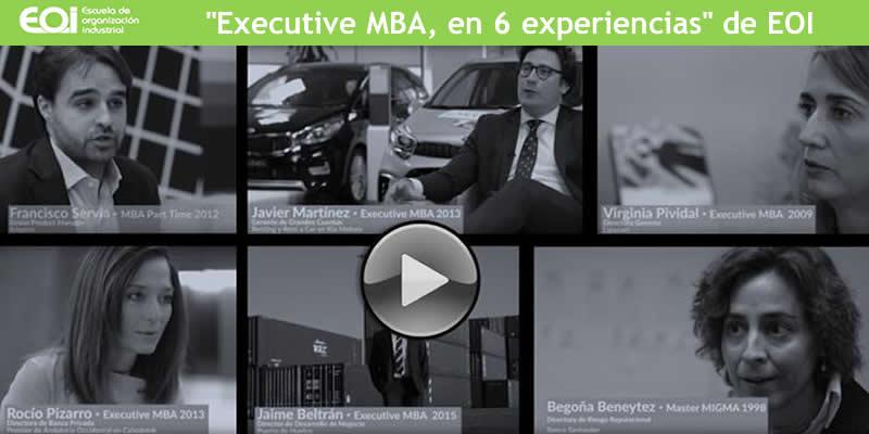 Sevilla. Executive MBA en 6 experiencias de EOI