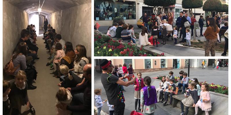 Cuarenta personas asisten a la visita a los Refugios de la Guerra Civil en Almería