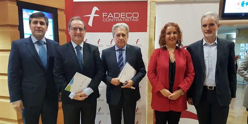 El Decano apoya a Fadeco en el I Foro de Rehabilitación, Ahorro y Energía para afrontar los retos de la edificación en Andalucía