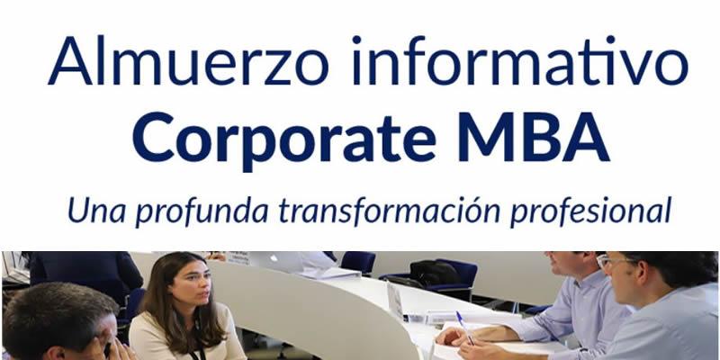 Sevilla. Almuerzo informativo Corporate MBA ESADE – LOYOLA
