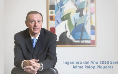 El Consejero Delegado de EMASESA, Jaime Palop, Ingeniero del Año 2018