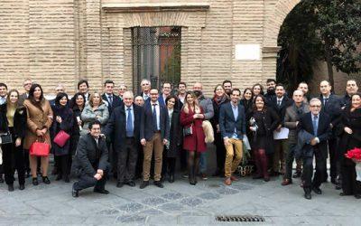 Casi medio centenar de compañeros se reúnen en la Comida navideña de Granada
