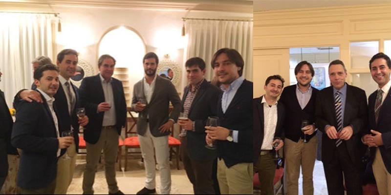 Bienvenida a la Navidad en Córdoba con una cena de compañeros
