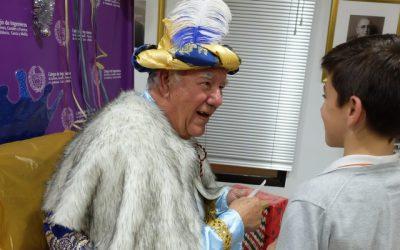 El Cartero Real trae la ilusión a los más pequeños del Colegio