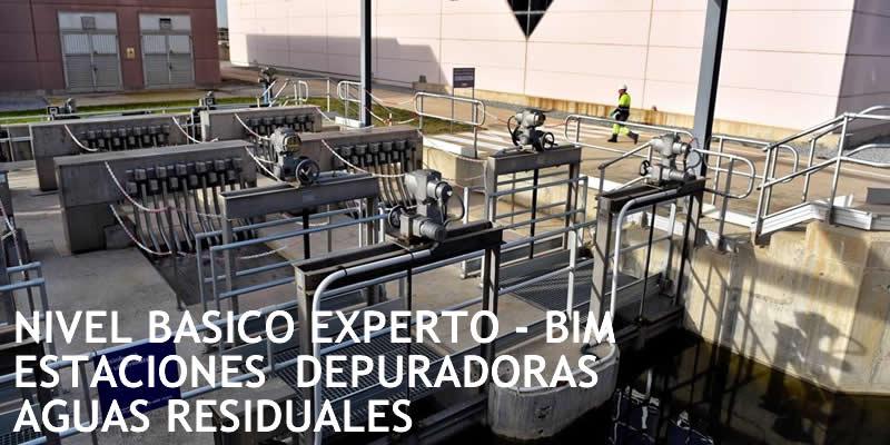 Granada. Curso BIM Estaciones Depuradoras Aguas Residuales (Nivel Básico y Experto)