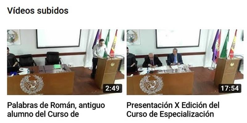 Videos de la presentación del  Curso de Especialización Práctica de Ingeniería Marítima