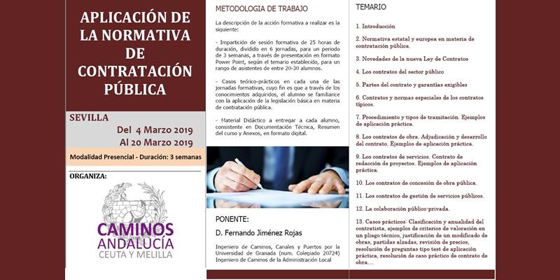 Sevilla. Curso Aplicación de la Normativa de Contratación Pública