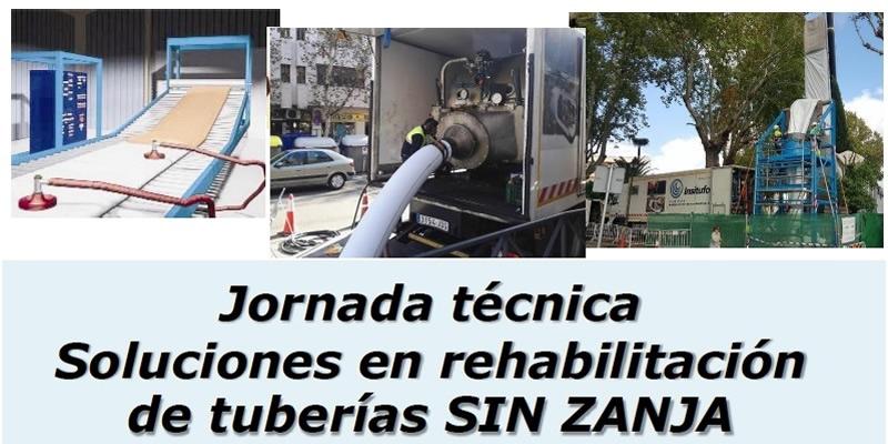 Granada. Jornada técnica Soluciones en rehabilitación de tuberías sin zanja