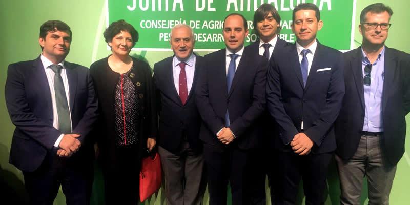 Acompañamos a los nuevos directivos de la Consejeria de Agricultura, Ganadería, Pesca y Desarrollo Sostenible de la Junta de Andalucía en su toma de posesión