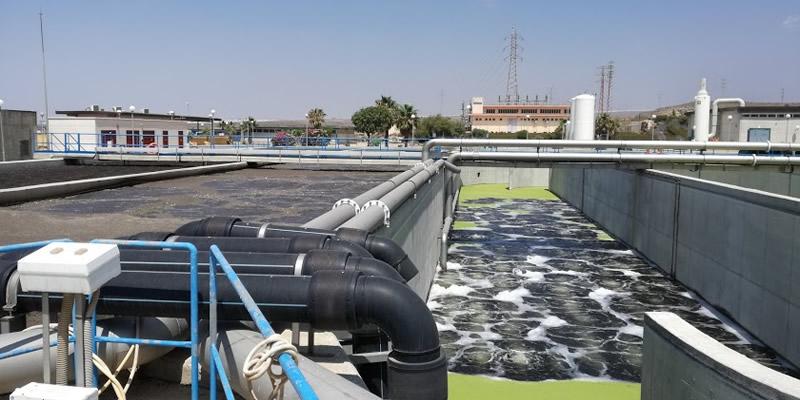 Almería    Visita técnica a las instalaciones de la EDAR de El Toyo