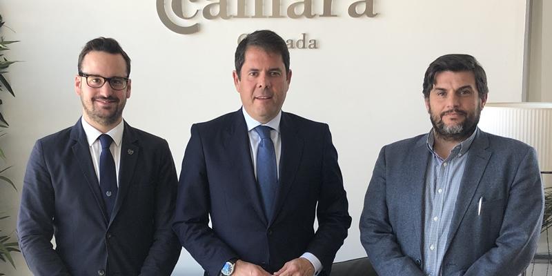 Buscamos el apoyo de la Cámara de Granada en la reivindicación de infraestructuras