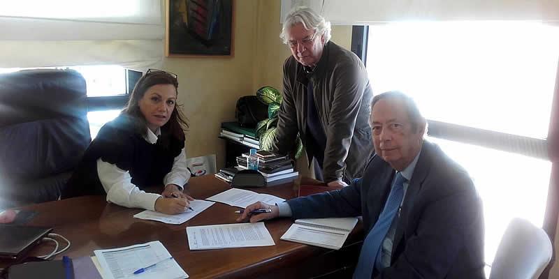 Firmado convenio de colaboración para la organización del Foro de Movilidad Eficiente Territorial-Urbana. Área Metropolitana de Sevilla (METAS)