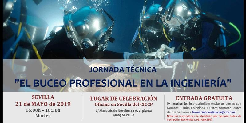 Sevilla. Jornada técnica «El buceo profesional en la Ingeniería»