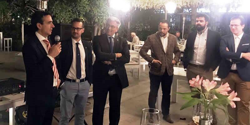 Los ICCP granadinos nombrados directores generales de la Junta comparten con los colegiados la celebración del patrón