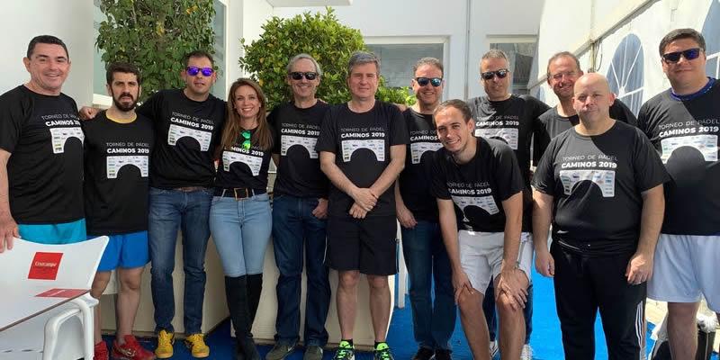 Casi medio centenar de colegiados festejan a Santo Domingo en Almería