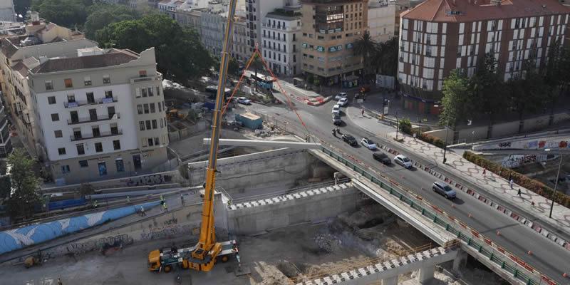 Málaga | Visita a la obra del Metro de Málaga