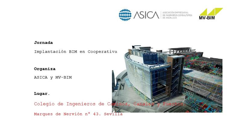 Sevilla. Jornada «Implantación BIM en Cooperativa» – CANCELADO