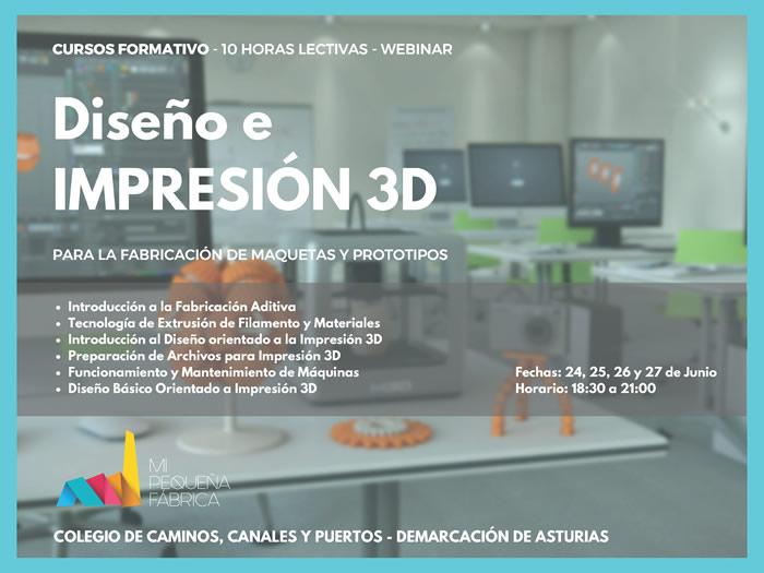 Curso On-line de Impresión 3D de Obras de Ingeniería Civil