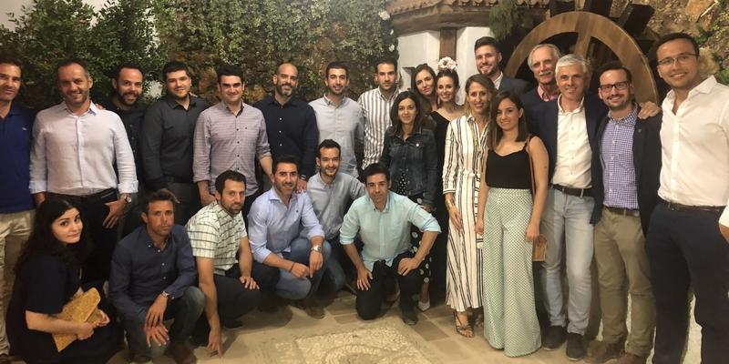 El Corpus acoge el encuentro mensual de los ingenieros nazaríes