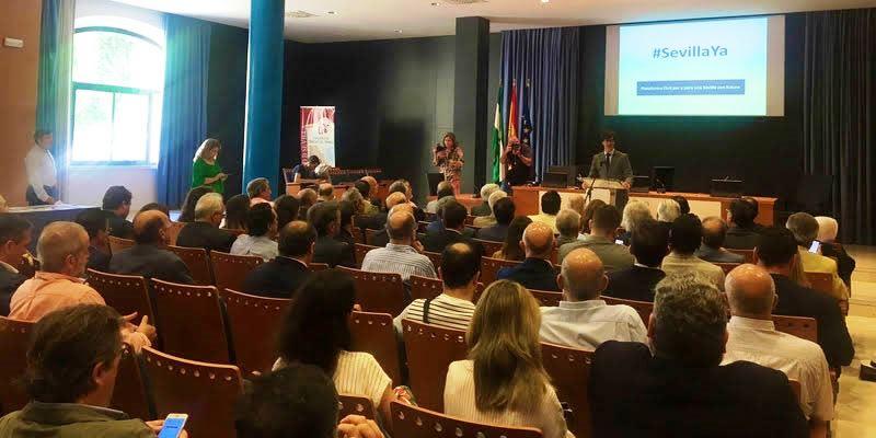 Los ingenieros se suman al impulso de los empresarios y la sociedad civil para reclamar las infraestructuras de Sevilla