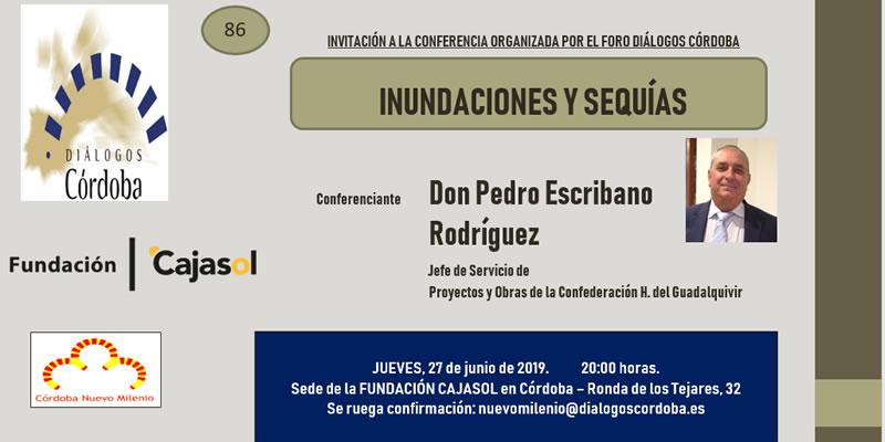 Córdoba. Conferencia «Inundaciones y Sequías»