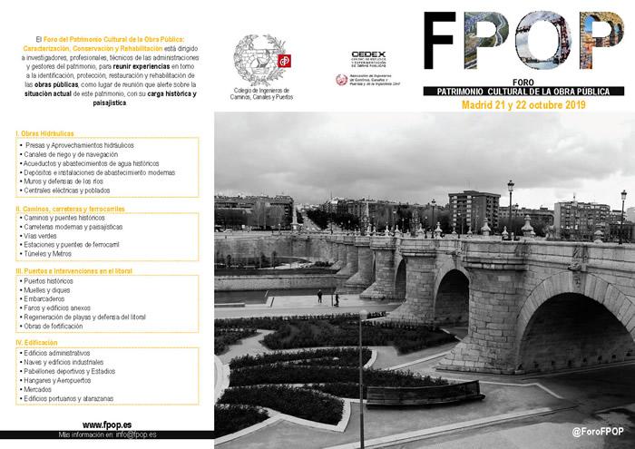I Foro Patrimonio Cultural de las Obras Públicas