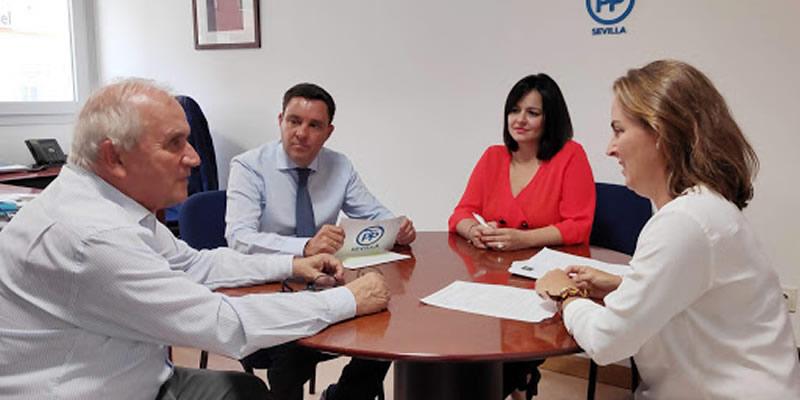 Encuentro con el PP de Sevilla para analizar la situación de las infraestructuras