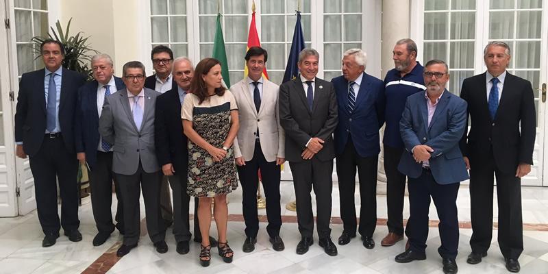 La plataforma 'SevillaYa' reclama inversiones a los delegados del Gobierno de Andalucía y Sevilla