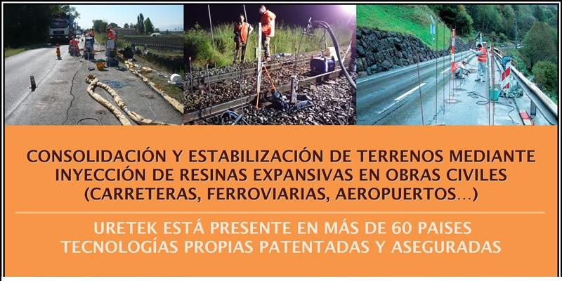 Jornada Técnica «Consolidación y estabilización de terrenos mediante inyección de resinas expansivas en obras civiles»