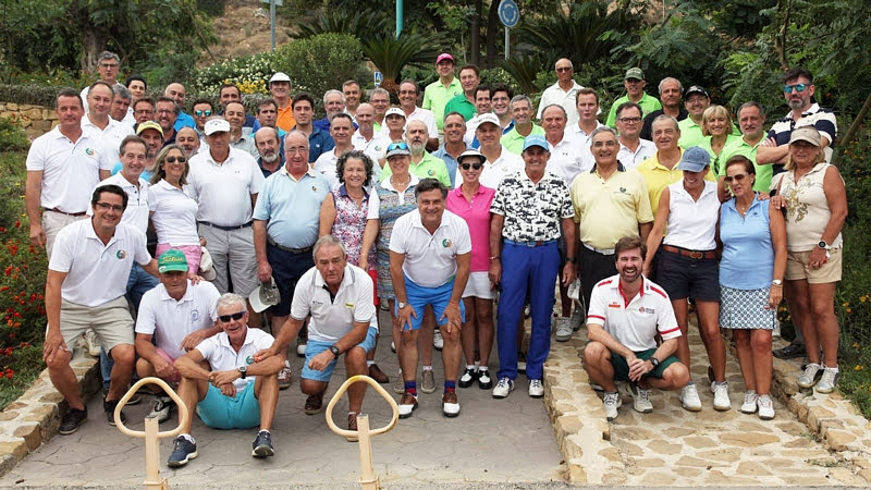 El Torneo de Golf Caminos Andalucía cumple sus bodas de plata con récord total de participación