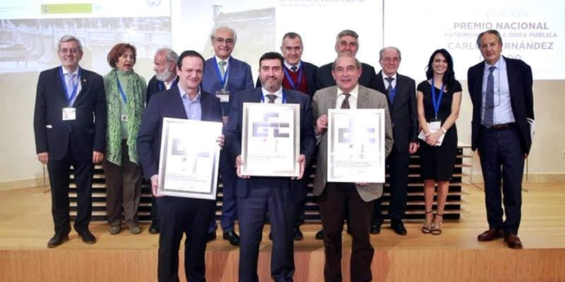 """El primer Premio Nacional Patrimonio de la Obra Pública Carlos Fernández Casado para la """"Restauración de la muralla marítima de Cádiz"""""""