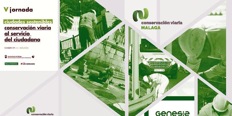 Málaga. Jornada Técnica «Ciudades sostenibles. Conservación viaria al servicio del ciudadano»