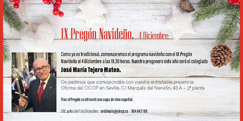 Sevilla   IX Pregón Navideño